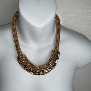 🌸FREEDOM Chunky Link Gold Statement Necklace
